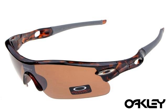 oakley radar pitch sunglasses in camo and persimmon