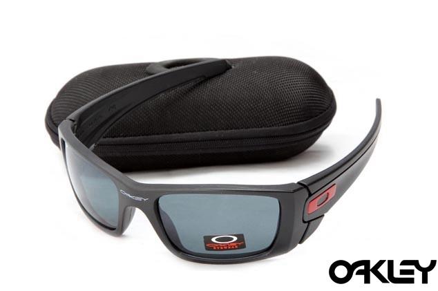 Oakley fuel cell sunglasses in matte black and emerald iridium