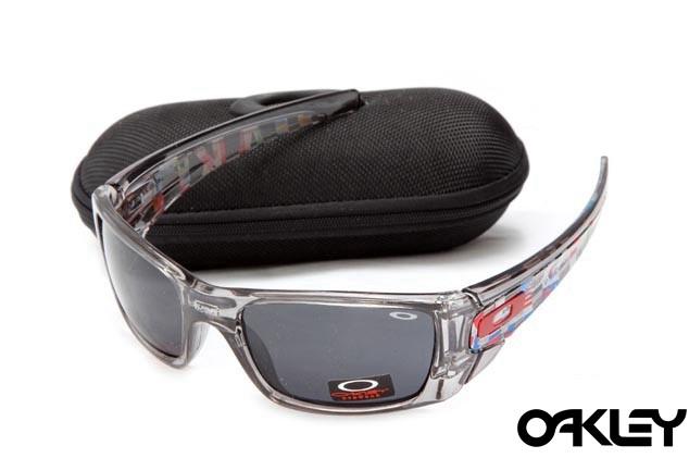 Oakley fuel cell sunglasses in grey tortoise and black iridium