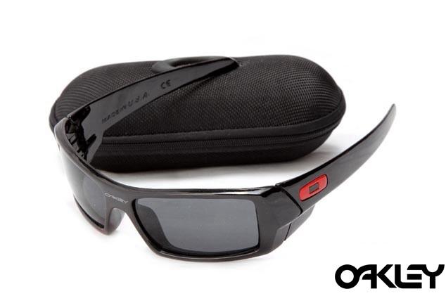 Oakley gascan sunglasses in polished black and black iridium
