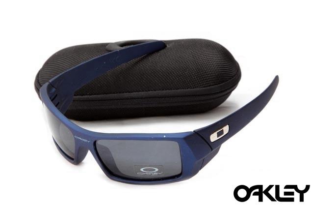 Oakley gascan sunglasses in nave blue and black iridium