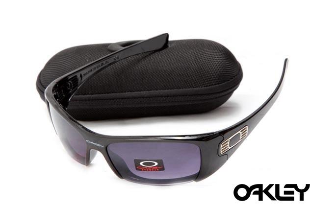 Oakley hijinx sunglasses in matte black and black violet gradient