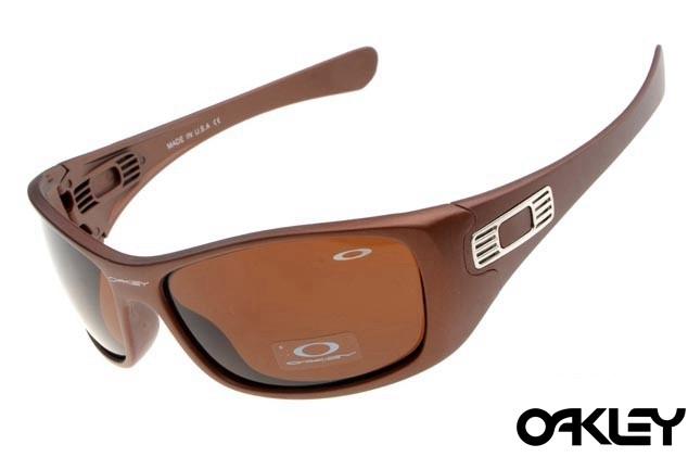 Oakley hijinx sunglasses in brown and VR28