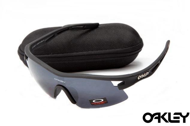 Oakley m frame sunglasses in matte black and dim grey online