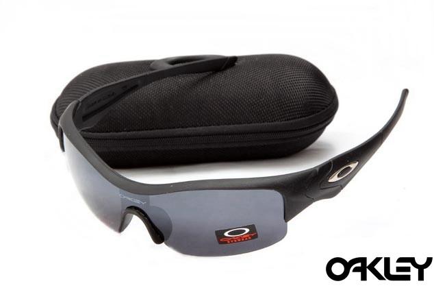 Oakley straight jacket sunglass matte black and dim grey