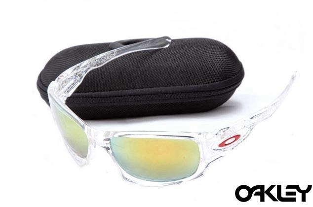 Oakley ten sunglasses in clear and fire iridium