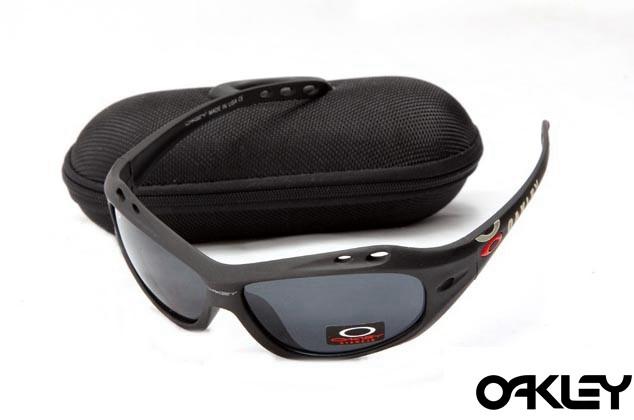 Oakley water jacket sunglasses in matte black and black iridium