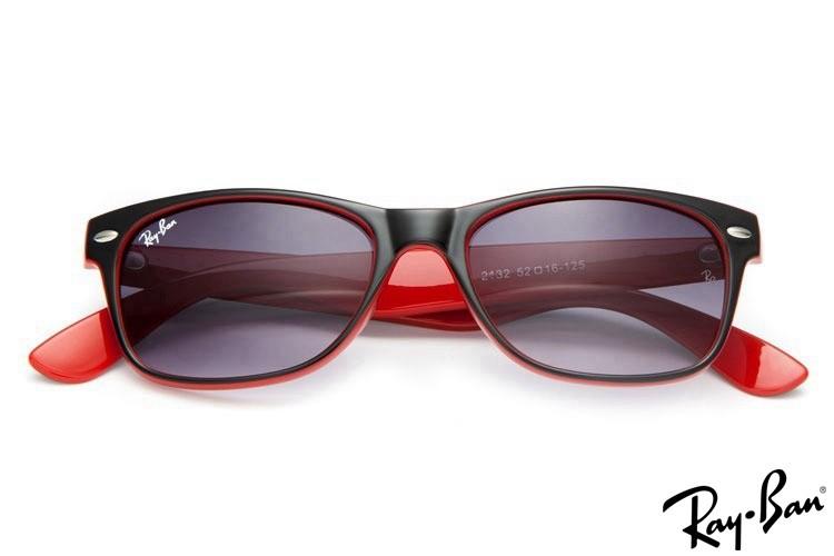 RayBans RB2132 New Wayfarer Classic Black Sunglasses