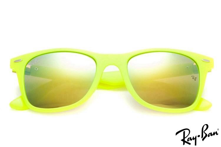 Ray Ban RB2132 New Wayfarer Sunglasses Classic Green