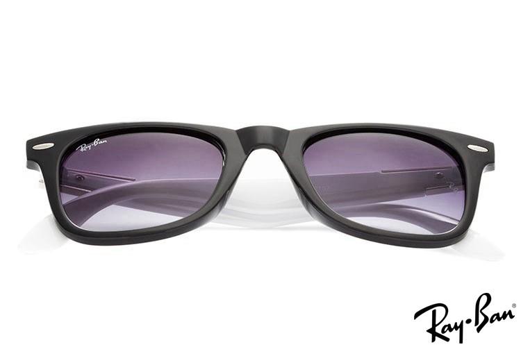 Ray Ban RB2157 Wayfarer Black Sunglasses
