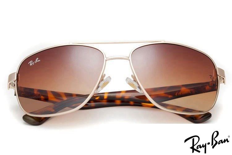 Ray Ban RB2483 Aviator Gold Sunglasses