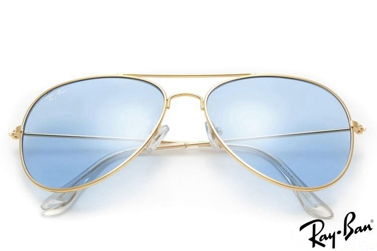 Ray Bans RB3025 Aviator Gold Sunglasses
