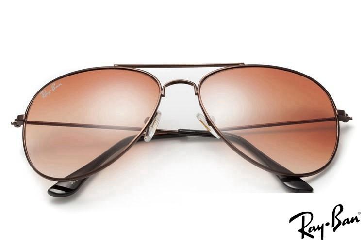 Ray Ban RB3025 Aviator Grey Sunglasses