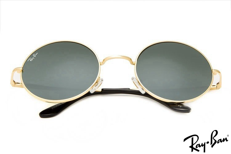 Ray Ban RB3088 Round Metal Gold Sunglasses cheap