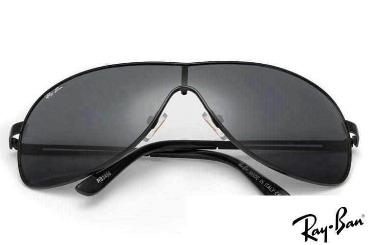 Ray Ban RB3466 Highstreet Black Sunglasses