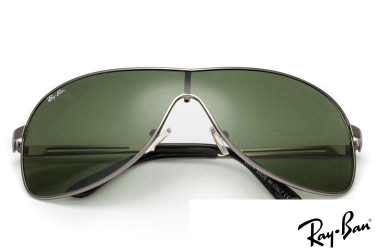 Ray Ban RB3466 Highstreet Grey Sunglasses