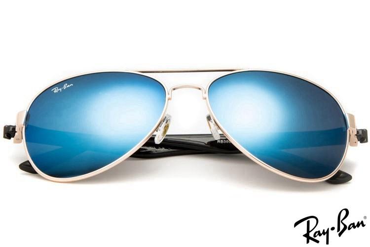 Ray Ban RB3806 Aviator Gold Sunglasses