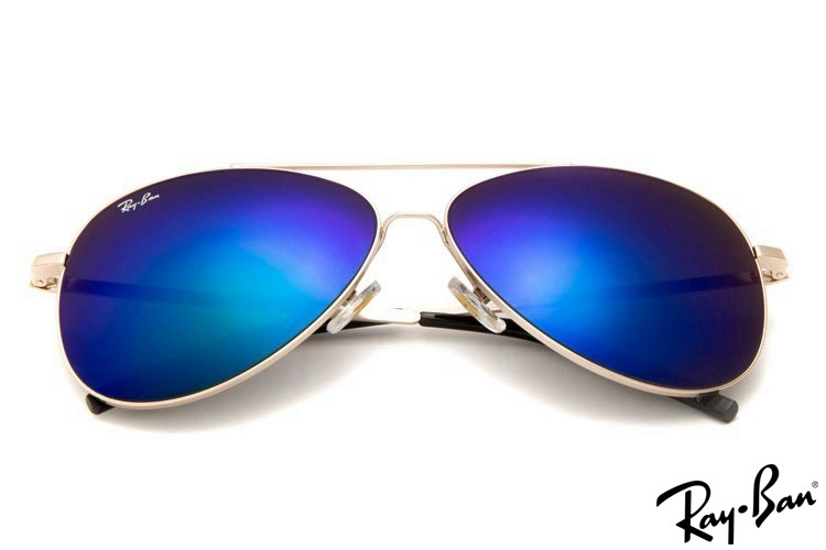 Ray Ban RB3811 Aviator Gold Sunglasses online