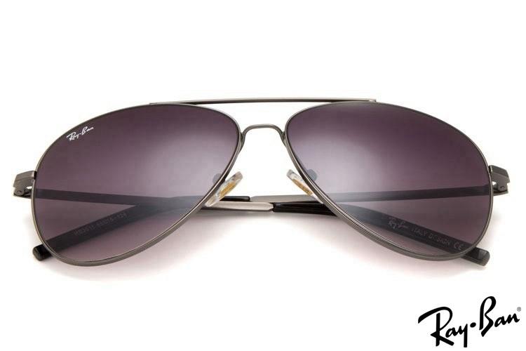 Ray Ban RB3811 Aviator Grey Sunglasses