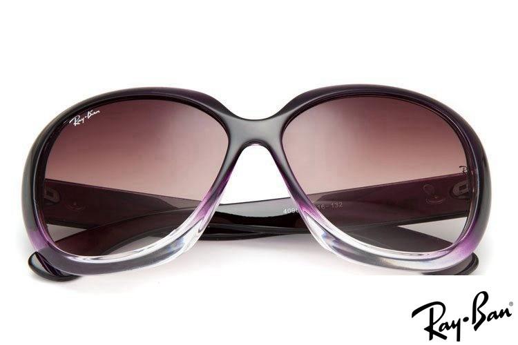 Ray Ban RB4098 Jackie Ohh II Purple Sunglasses