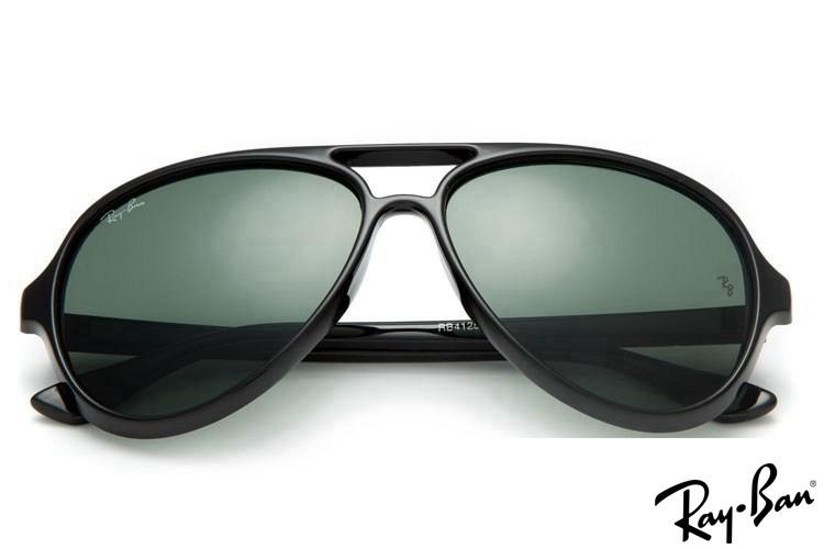 Ray Ban RB4125 Cats 5000 Black Sunglasses