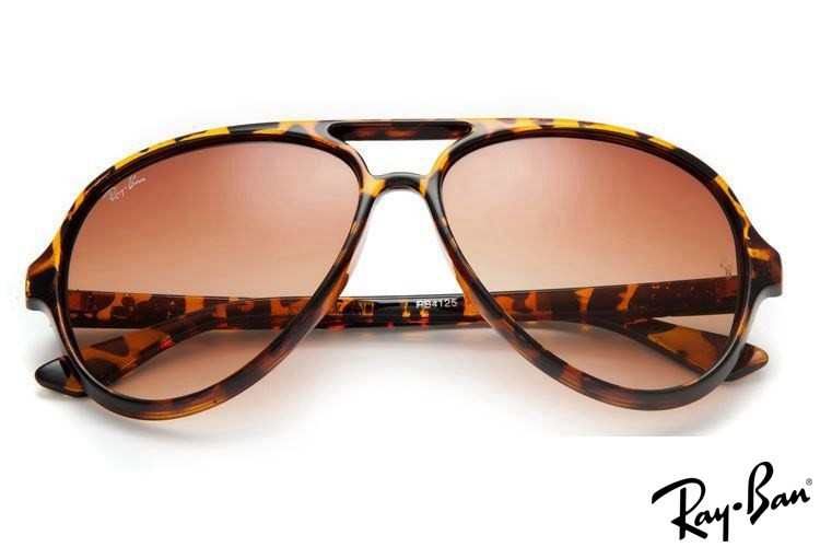 Ray Ban RB4125 Cats 5000 Tortoise Sunglasses