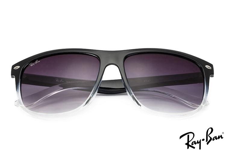 RayBans RB4147 Wayfarer Black Sunglasses
