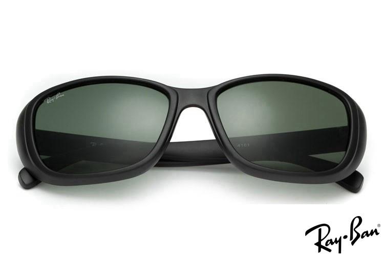 Ray Ban RB4161 Highstreet Black Sunglasses