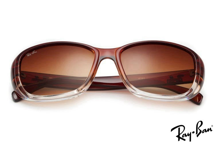 Ray Ban RB4161 Highstreet Brown Sunglasses