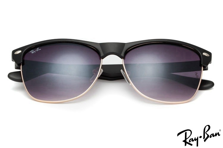 Ray Ban RB4175 Clubmaster Black Sunglasses