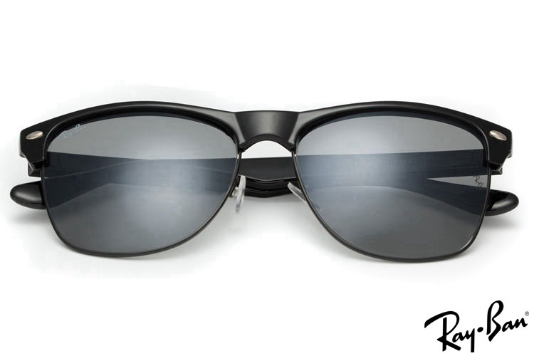Ray Ban RB4175 Clubmaster Sunglasses Black