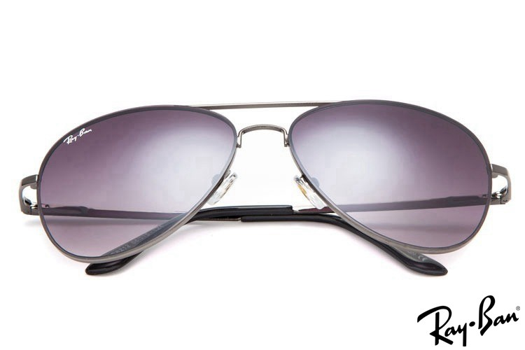 Ray Bans RB8212 Aviator Grey Sunglasses