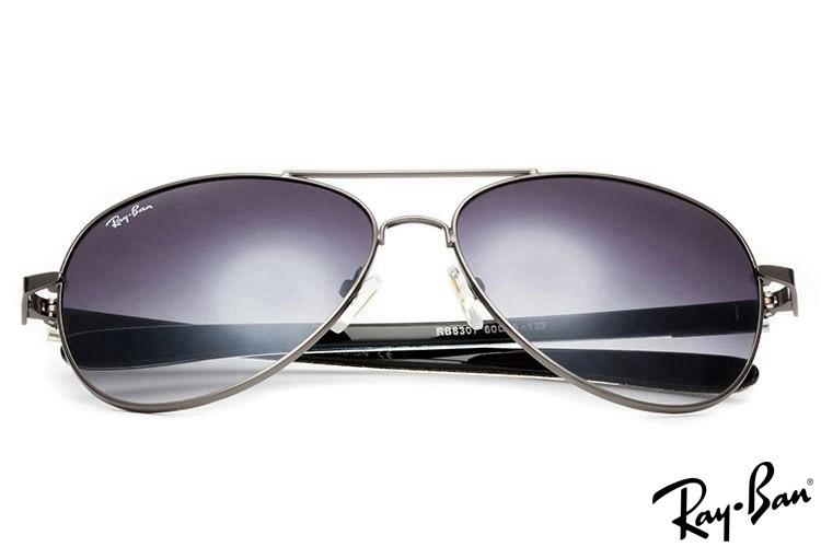 Ray Ban RB8307 Tech Carbon Fibre Silver Sunglasses