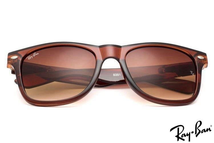Ray Ban RB8381 Wayfarer Brown Sunglasses