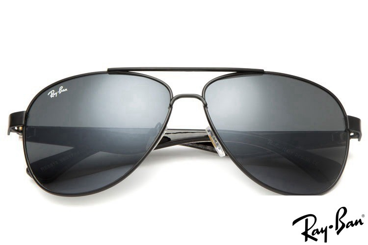 Ray Ban RB8812 Aviator Black Sunglasses outlet