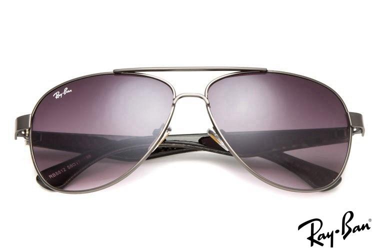 Ray Ban RB8812 Aviator Grey Sunglasses