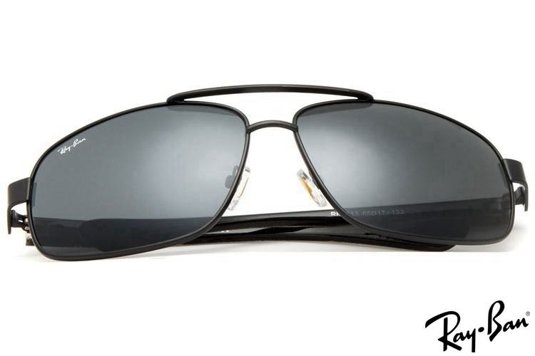 Ray Ban RB8813 Aviator Black Sunglasses