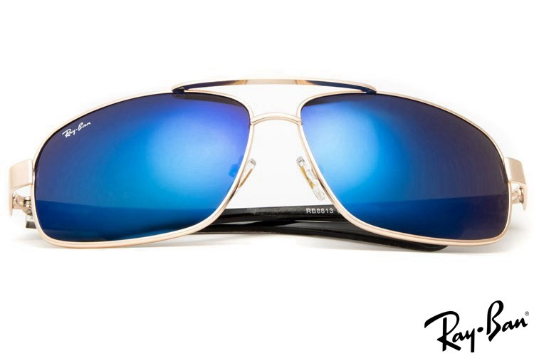Ray Ban RB8813 Aviator Gold Sunglasses outlet