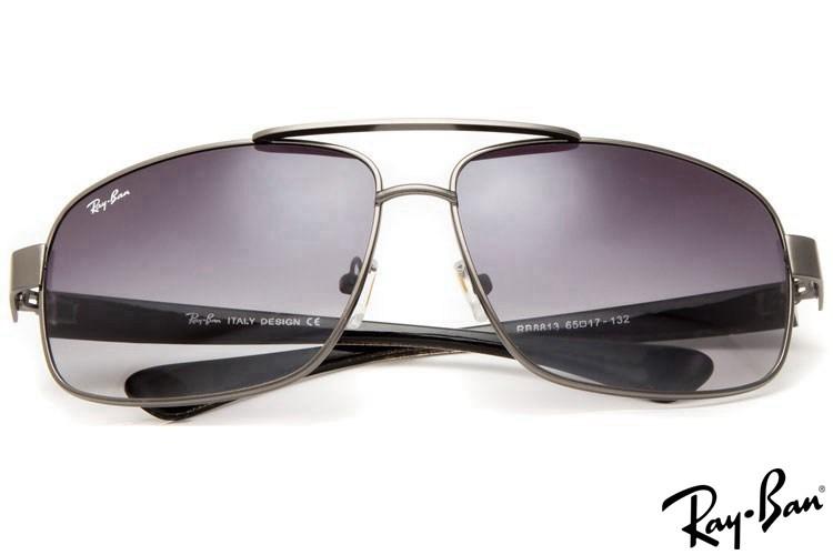 Ray Ban RB8813 Aviator Grey Sunglasses