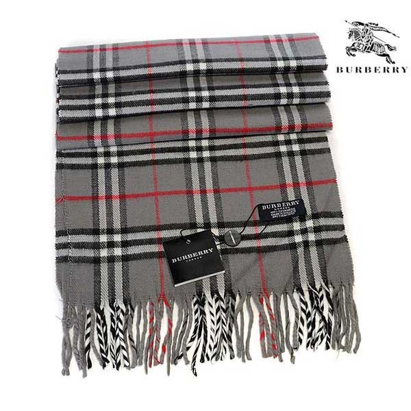 Burberry wool cashmere scarf gray online