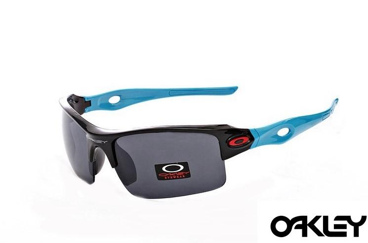 Oakley sunglasses in polished black blue and black iridium
