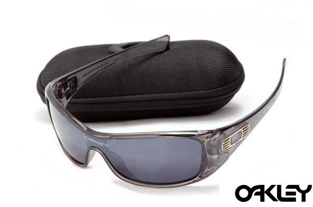 Oakley antix sunglasses in crystal black and black iridium