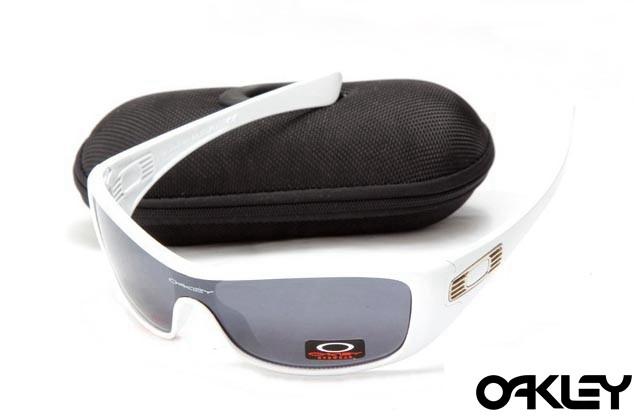 Oakley antix sunglasses in white and black iridium