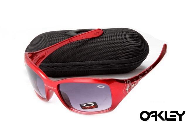 Oakley necessity red and mauve iridium