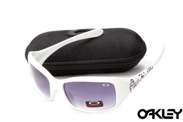 Oakley necessity white and mauve iridium