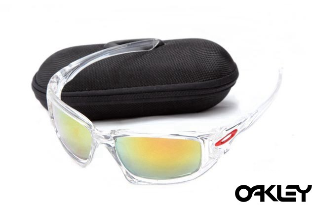 Oakley scalpel sunglasses in crystal clear and fire iridium