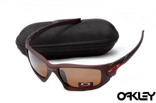 Oakley scalpel sunglasses in dark brown and VR28 for sale