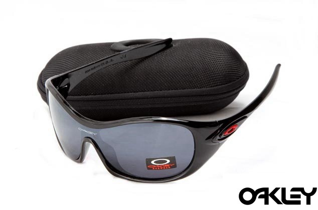 Oakley speechless polished black and clear black