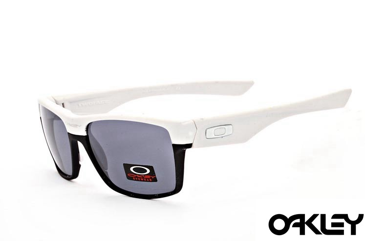 Oakley twoface sunglasses in opal and black and light grey