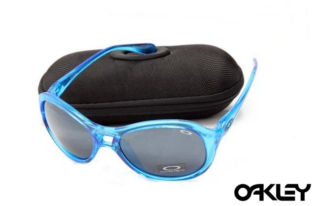 Oakley vacancy crystal blue and black iridium